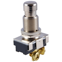 NTE 54-135 SWITCH PUSHBUTTON SPST ON-(OFF) 15A 125VAC