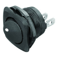 NTE 54-510 SWITCH ROUND HOLE ROCKER SPST 16A 125V ON-NONE-OFF