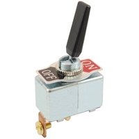 NTE 54-560 SWITCH PADDLE HANDLE TOGGLE SPST ON-NONE-OFF 50A
