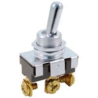 NTE 54-613 SWITCH BAT HANDLE TOGGLE SPDT ON-NONE-ON 20A