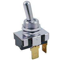 NTE 54-621 SWITCH BAT HANDLE TOGGLE SPST ON-NONE-(OFF) 20A
