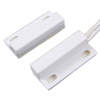 NTE 54-630 SWITCH WHITE MAGNETIC ALARM REED SPST