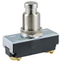 NTE 54-650 SWITCH PUSHBUTTON SPST ON-(OFF) 10A 250VAC 15A