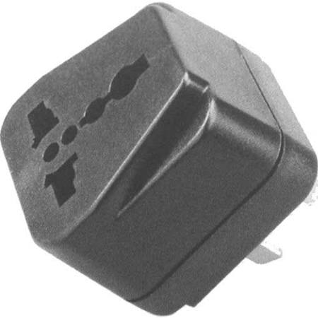 48-555 World Traveler Universal AC Plug Adapter to Australia/New Zealand/China