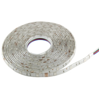 12 VDC NTE Electronics 69-56R-WP Flexible Led Strip Red 72W 300 Led Led Size 5050 16.4 Reel Water Proof