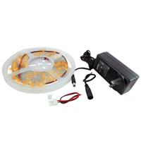 NTE 69-36A-WR-KIT LED STRIP KIT AMBER 16.4FT 300 (3528) LEDS