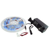 NTE 69-36B-KIT LED STRIP KIT BLUE 16.4FT 300 (3528) LEDS