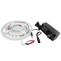 NTE 69-36W-WR-KIT LED STRIP KIT WHITE 16.4FT 300 (3528) LEDS