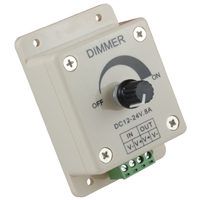 NTE 69-DIM2 LED Dimmer, Knob Operated Control