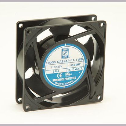 OA92AP-11-1TB 92 x 25mm Fan, 115AC