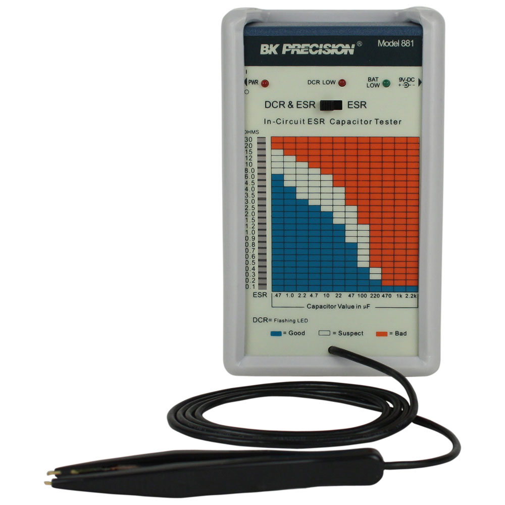 Circuit Tester Equipment : B k precision in circuit esr tester