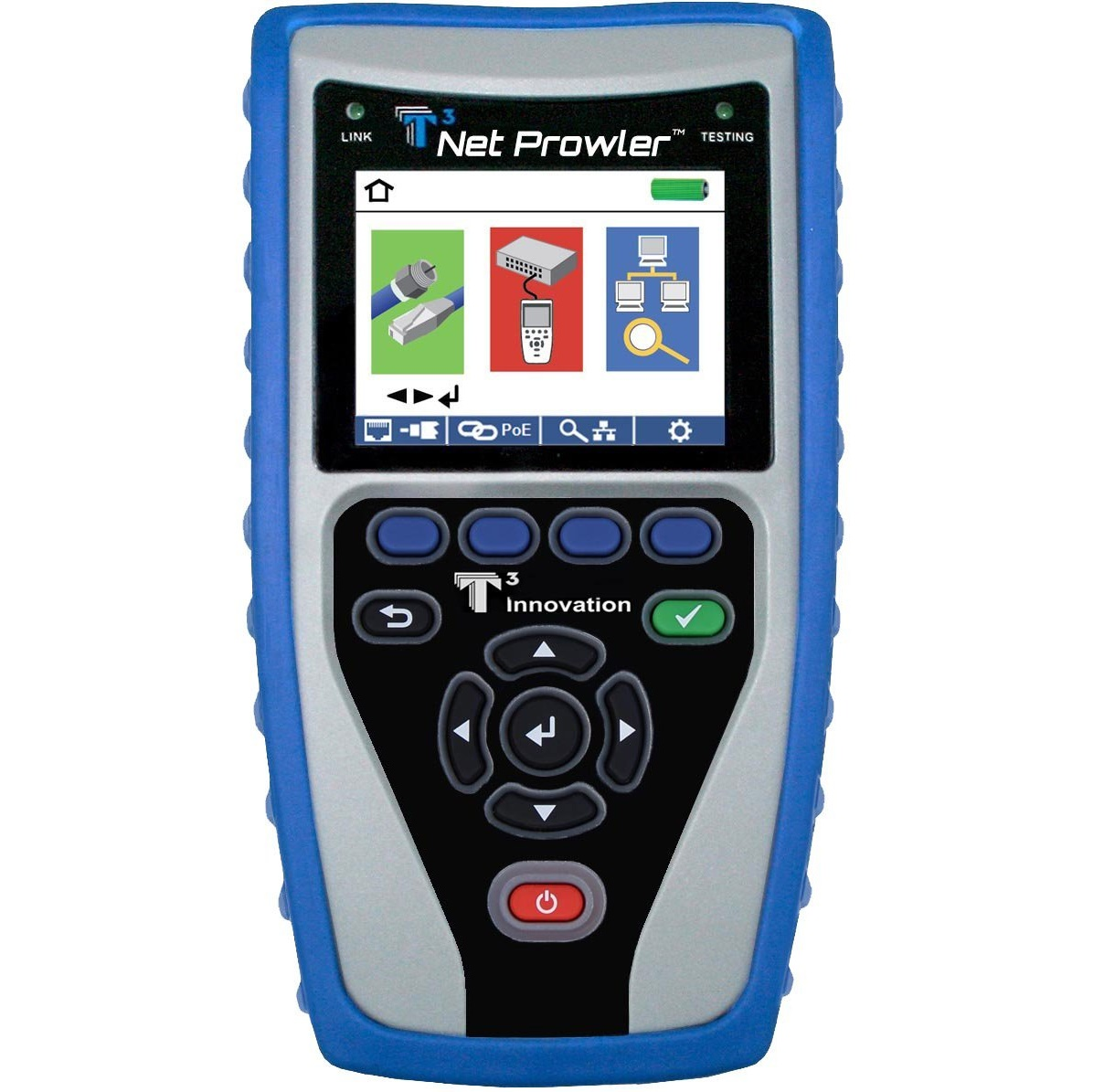 T3 Innovation NP800 Net Prowler Cabling and Advanced Network Tester
