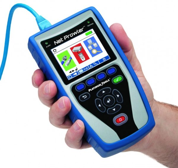 TNP700 Net Prowler™ Cabling and Network Tester