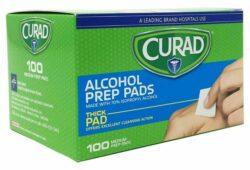 Curad 70% Alcohol Prep Pads