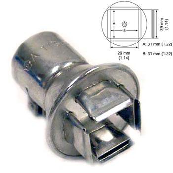 Hakko A1138B PLCC 84 Nozzle 31 x 31mm